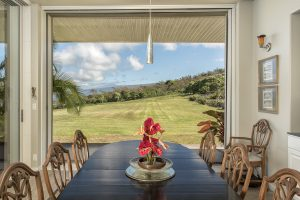 Dining Room Horizon Guest House Captain Cook Hawaii
