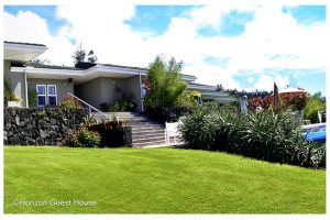 Horizon Guest House exterior BnB Big Island Hawaii