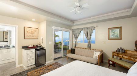 King suite Horizon Guest House Big Island Hawaii