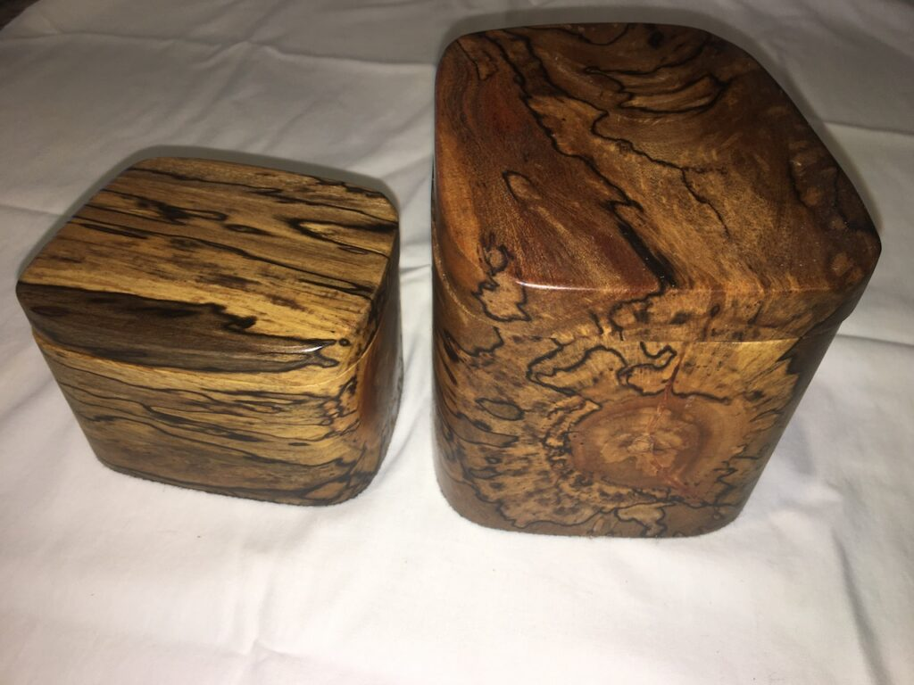 Mango wood boxes