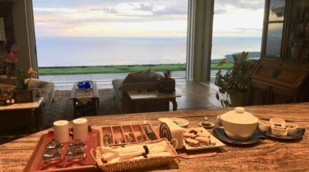 Horizon Guest House Breakfast Big Island Hawaii