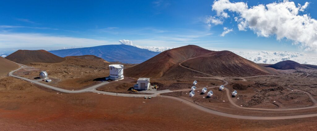 Mauna Kea non optical telescopes