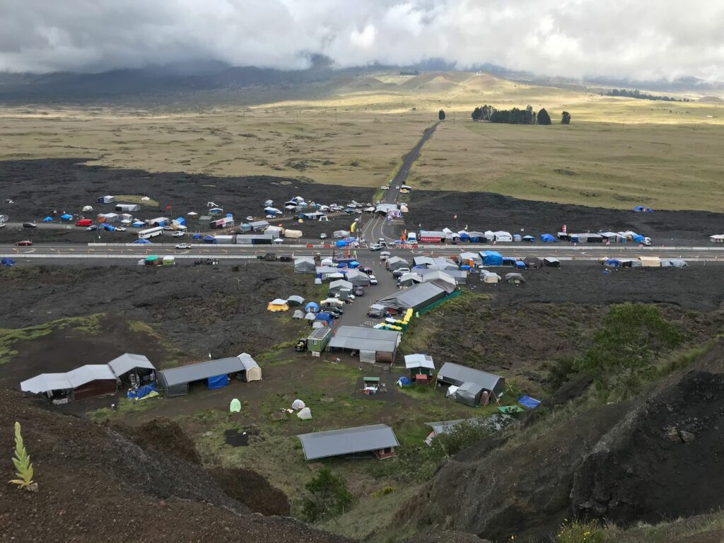 Mauna Kea Hawaii Protestors Day Four