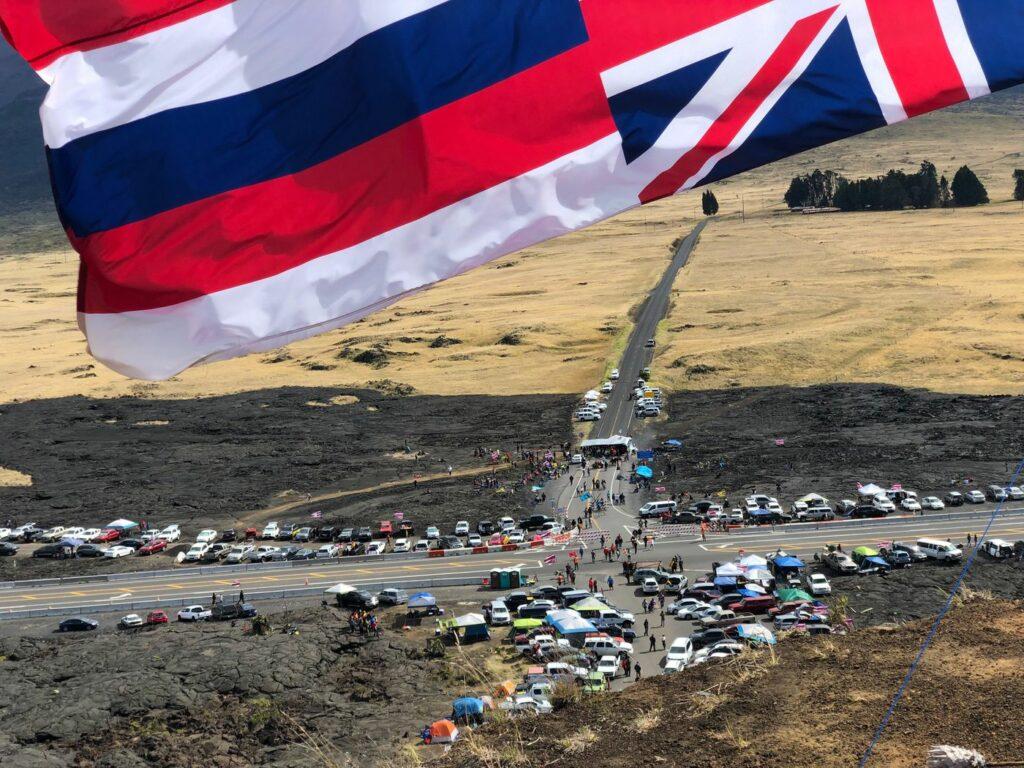 Mauna Kea Protestors day 117