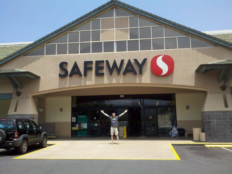 Safeway Kona Big Island Hawaii Horizon Guest House