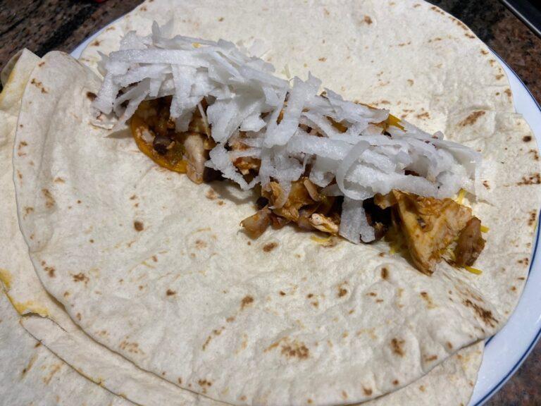 Jicama Burrito HGH