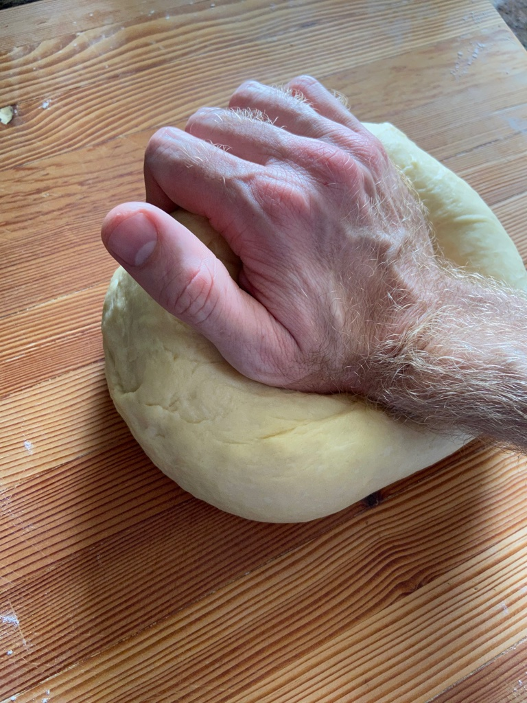 Bricohe dough knead HGH Hawaii