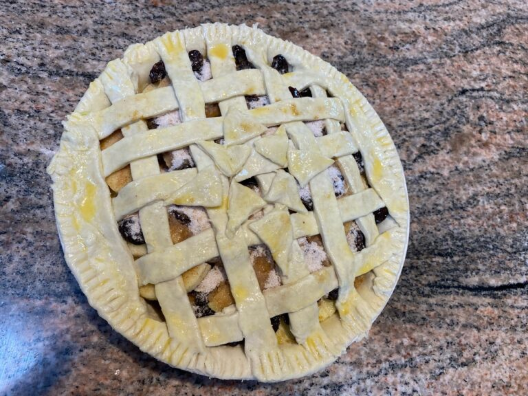 Apple Cherry Pie