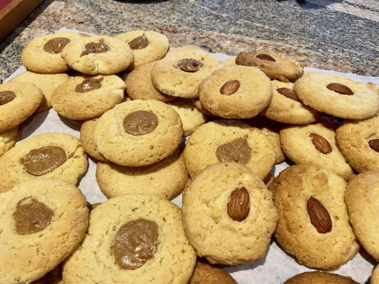 Almond Cookies 1a