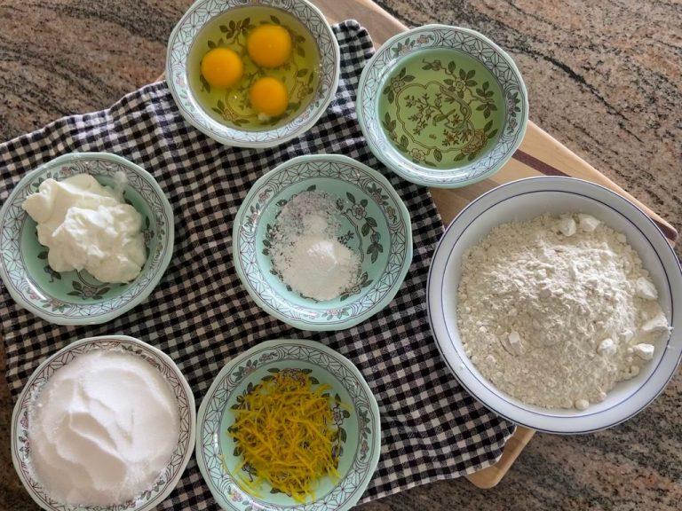 Lemon Yoghurt Cake Hawaii 1